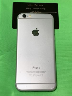 Unlocked iPhone 6 128GB Silver for Sale in San Jose, CA