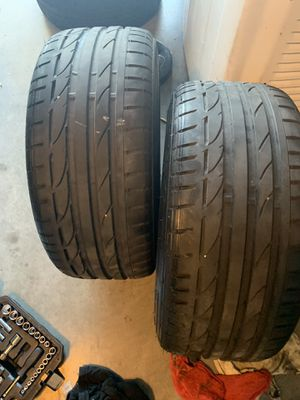 Bridgestone 225/45/17 like new for Sale in Lakeland, FL