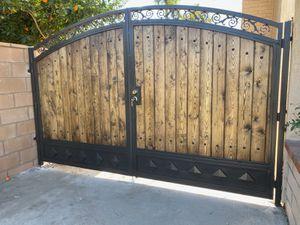 Wood metal Gates ,fences for Sale in Bellflower, CA