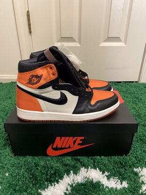 NEW NIKE AIR JORDAN 1 RETRO SATIN SHATTERED BACKBOARD SIZE 7.5/8 MENS for Sale in Fort Washington, MD