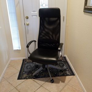 Ikea Leather Desk Chair for Sale in Mesa, AZ