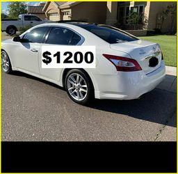 Price$12OO Nissan Maxima for Sale in Montgomery,  AL