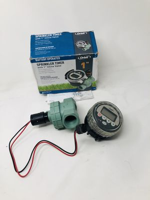 "Orbit Battery Operated Sprinkler Timer w 1"" Inline Valve for Sale in Rancho Cucamonga, CA"