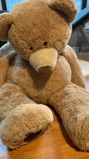 5 ft Life size teddy bear! for Sale in Chicago, IL