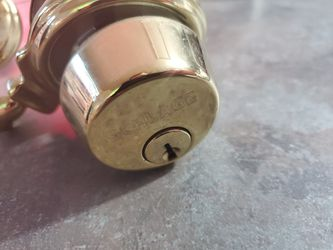 Schlage door handle and deadbolt for Sale in Peoria,  IL