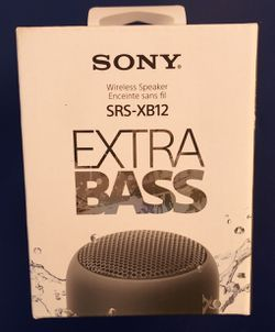 Sony EXTRA BASS Wireless Speaker Brand New for Sale in Los Angeles,  CA
