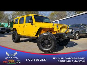 2011 Jeep Wrangler for Sale in Gainesville, GA