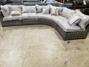 New 4pc outdoor patio furniture sectional sofa set tax for Sale in Hayward, CA