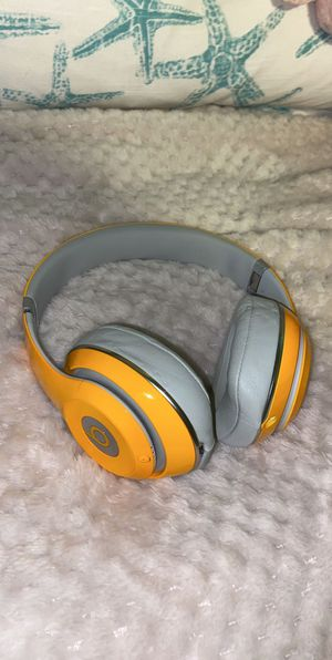 Beats By Dre 2.0 Orange Studio Special Edition Over Ear Headphones for Sale in Kirkland, WA