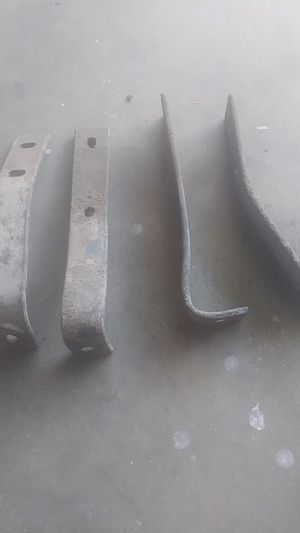 1940's style Chevy Rear Bumper Brackets. ( Only 4 pieces) for Sale in Rialto, CA