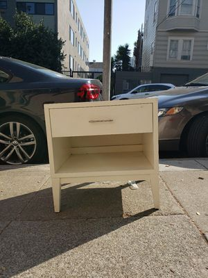 Night stand /Side table with damage on top for Sale in San Francisco, CA