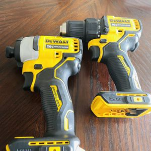 Dewalt 20v max Impact n drill, tools only for Sale in Ruskin, FL