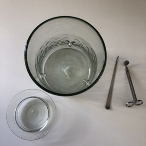 Large Glass Candle Holder for Sale in San Francisco, CA