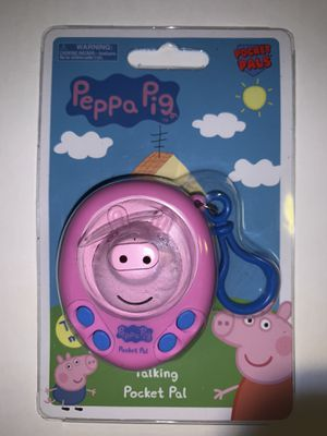 PEPPA PIG TALKING POCKET PAL Kid Toy UK Cartoon BRAND NEW for Sale in Littleton, CO