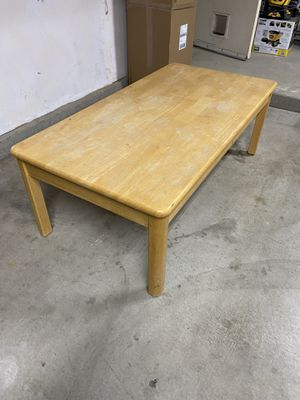 Solid wood coffee table for Sale in Bakersfield, CA