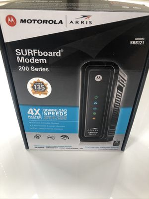 Motorola Surfboard Cable Modem for Sale in Katy, TX