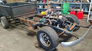 Chevy truck frame and engine for Sale in Riverside, CA