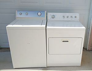 Washer and gas dryer set for Sale in Oceanside, CA