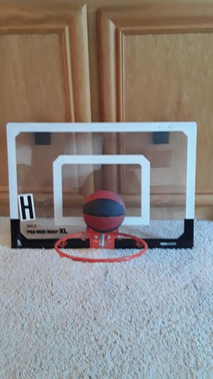 Mini basketball hoop XL for Sale in Tracy, CA