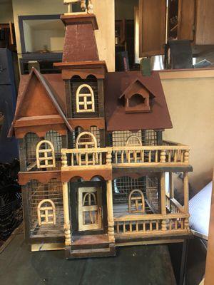 Handmade dollhouse/birdhouse for Sale in Saint James, MO