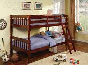Cherry bunk bed divisible to 2 beds ( new still in the box ) for Sale in Hayward, CA