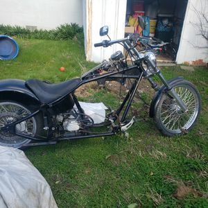 Rolling chassis big will chopper for Sale in Concord, CA
