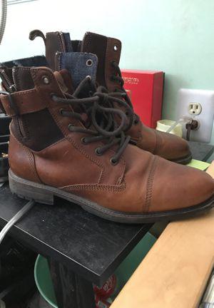 Aldo brown leather boots for Sale in Woodbridge, VA