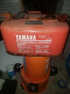 Vintage Yamaha outboard gas can for Sale in LAKE CLARKE, FL