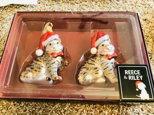 NEW Reece & Riley Cat Ornaments for Sale in Gaithersburg, MD