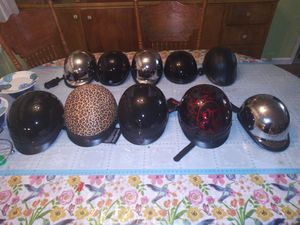 Lot of 10 brand new motorcycle helmets for Sale in Phoenix, AZ