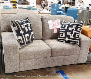 NEW. CLAERANCE, IN STOCK NOW,LOVE SEAT WITH DECORATIVE PILLOW. for Sale in Santa Ana, CA