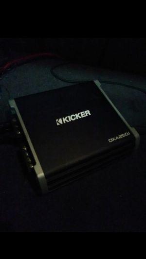 Kicker amp 250.1 for Sale in Sacramento, CA