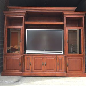 """Entertainment Unit including 50"""" projection TV for Sale in San Jose, CA"""