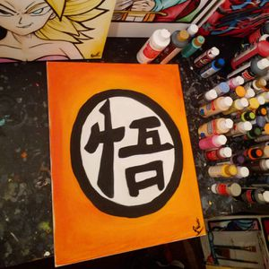 Goku Back Symbol! By Quil - Dragonball Z for Sale in Tracy, CA