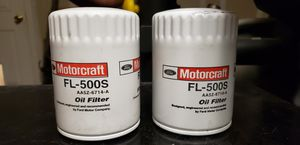 2 new motor oil filters for Sale in Fresno, CA