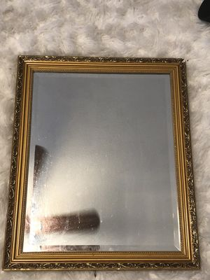 Gold Ornate mirror for wall decoration for Sale in Las Vegas, NV