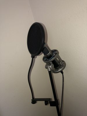 Sterling ST155 Recording Microphone with pop filter and Mic stand for Sale in Bradenton, FL