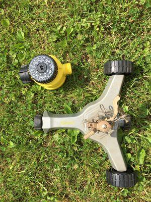 New lawn sprinkler & timer for Sale in Sunbury, PA