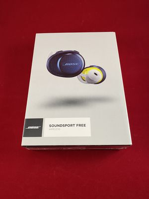 Bose Soundsport Free (Midnight Blue) for Sale in Fort Dix, NJ
