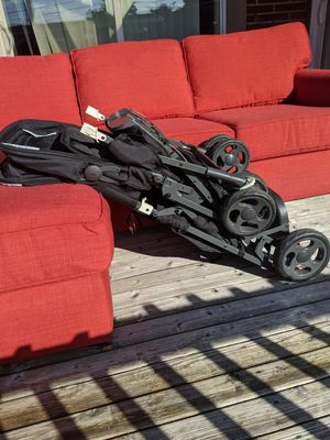 Joovy double stroller with drink carrier add ons for Sale in Seattle, WA