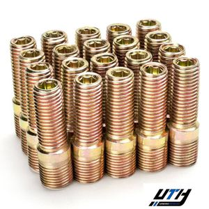 20pc 45mm 14x1.25 to 12x1.5 Wheel Conversion Adapter Bolts Studs for Sale in El Monte, CA