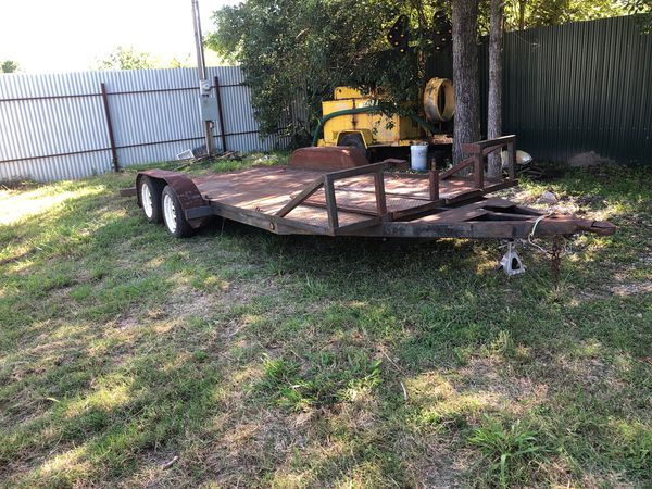 Carhauler or utility trailer 6ft x 17ft long