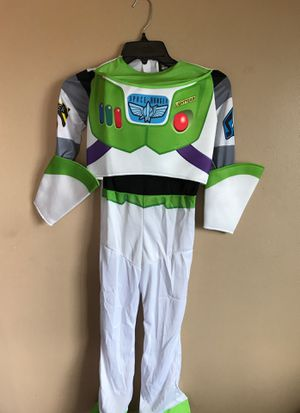 HALLOWEEN DISNEY TOY STORY BUZZLIGHT YEAR COSTUME KIDS S 4-6 for Sale in Bloomington, CA