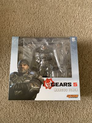 Storm Collectibles Gears of War 5 Marcus Fenix Action Figure for Sale in Irvine, CA