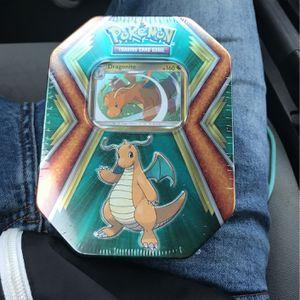 Pokémon TCG Dragonite Holo Tin for Sale in Midlothian, VA
