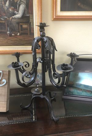 Black iron Candelabra for Sale in Casselberry, FL