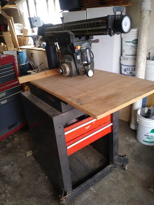 Craftsman radial arm saw for Sale in Springfield, OR