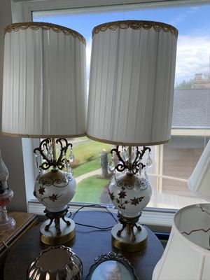 Set of antique lamps for Sale in Kent, WA