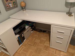 White Desk for Sale in Medford, MA
