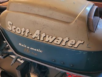 16HP Scott-Atwood Vintage Motor for Sale in Camano,  WA
